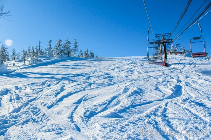 未圧雪, 景色が良い, パウダー-slops-渋峠スキー場