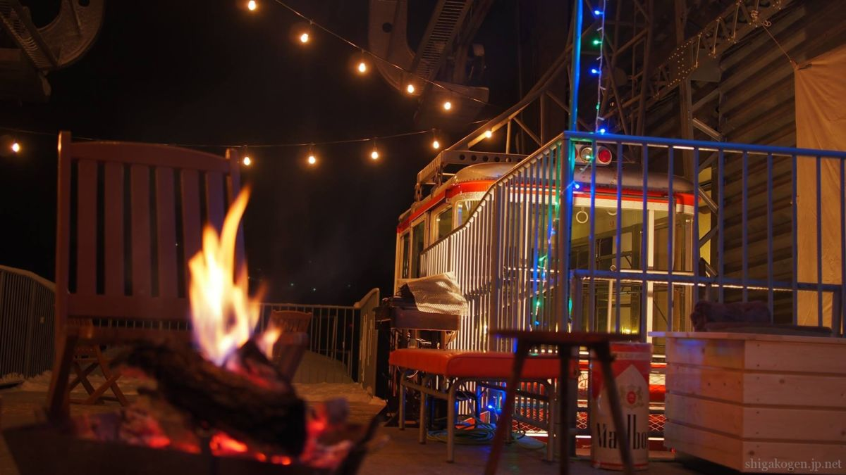 東館山-topic-東館山山頂にスープバー、旧ロープウエイ舎にカフェバーができたみたい