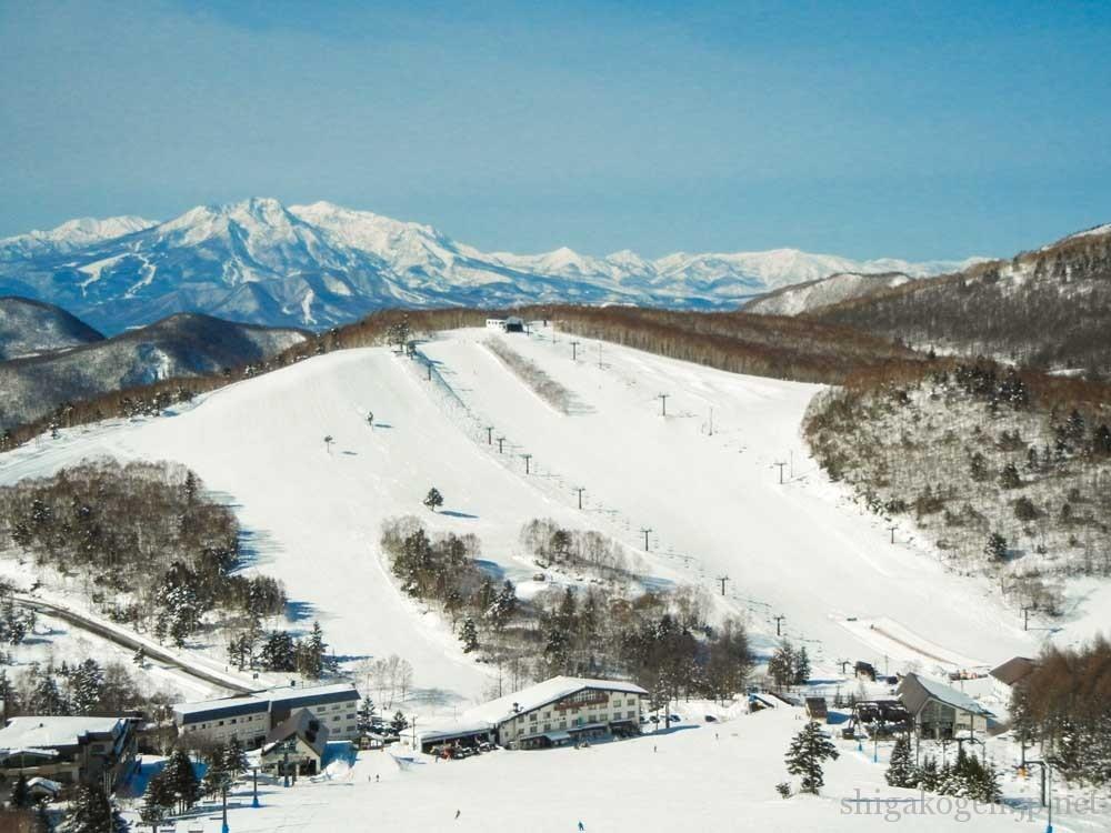 初心者, ファミリー-slops-一の瀬ダイヤモンドと山の神スキー場