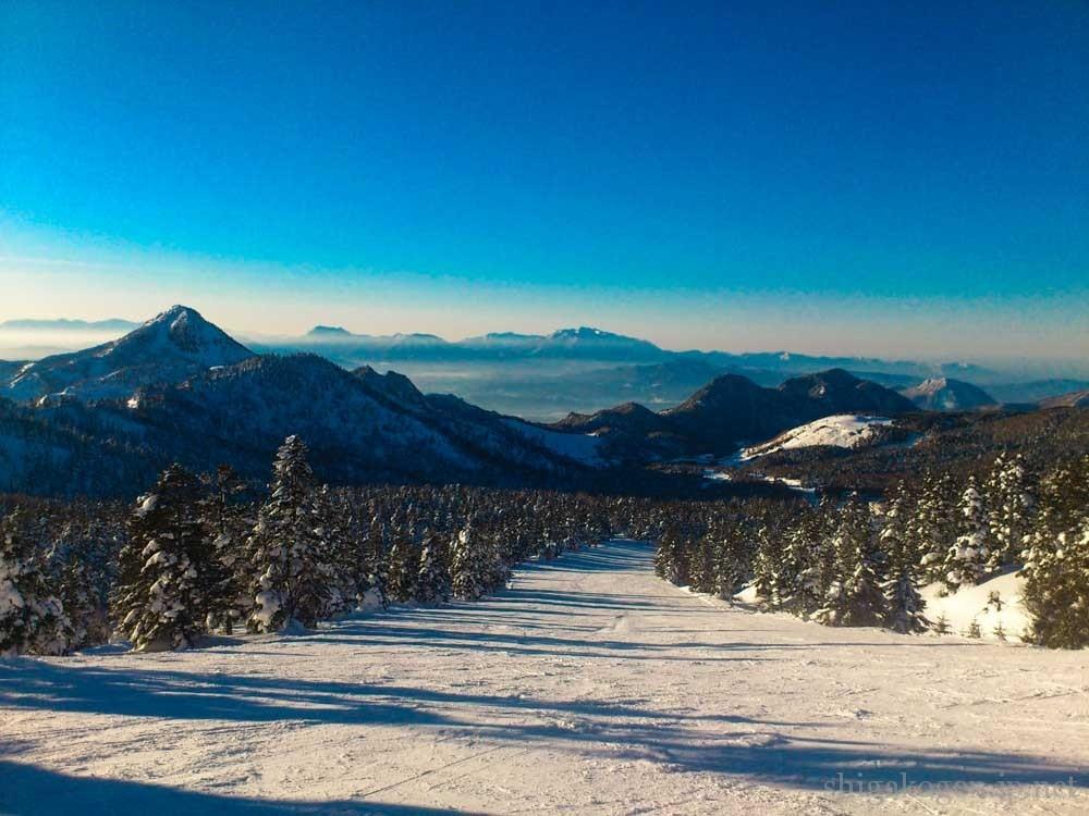 横手山, 景色が良い, 初心者-slops-横手山スキー場