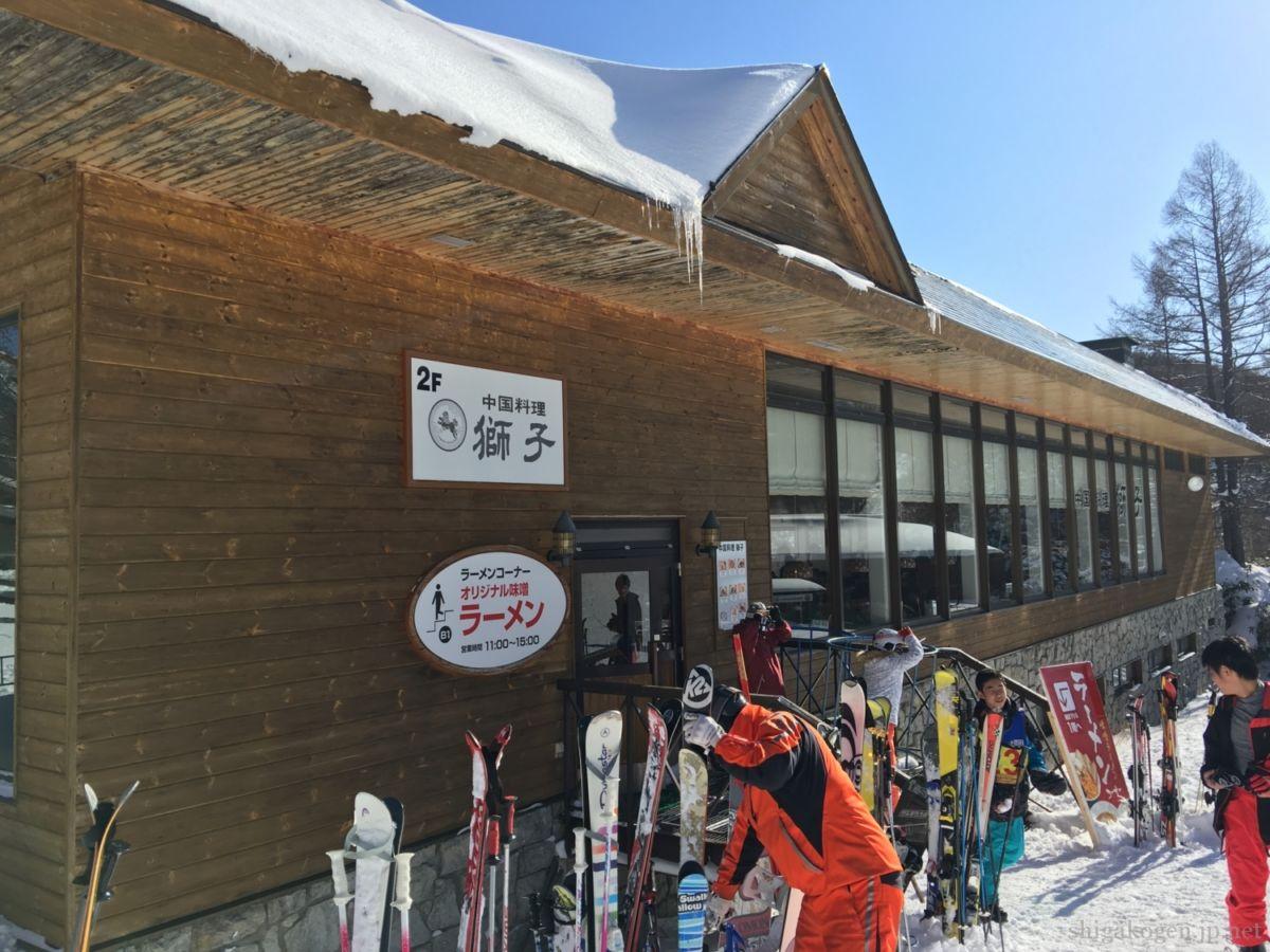 志賀高原-食事, 焼額山-yakebitai, food-2021 焼額山のレストランリスト